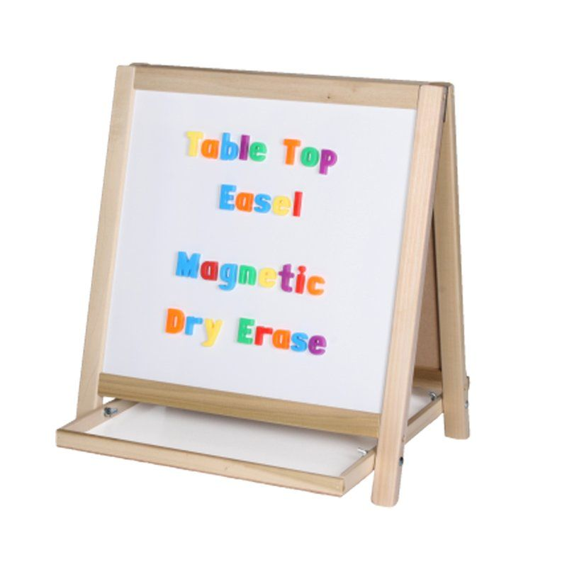 Table Top Magnetic Board Easel Magnetic White Board Table Easel Easel