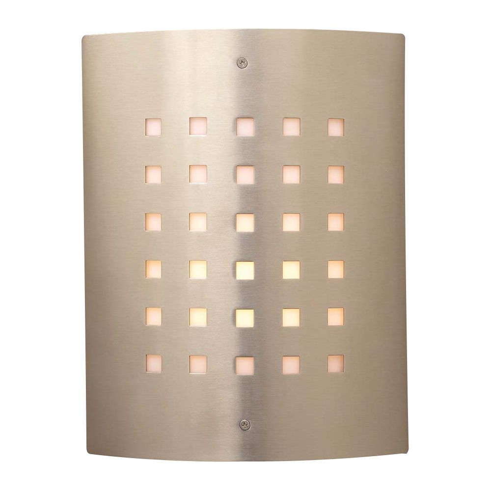 light outdoor fixture figaro collection shown in satin nickel by