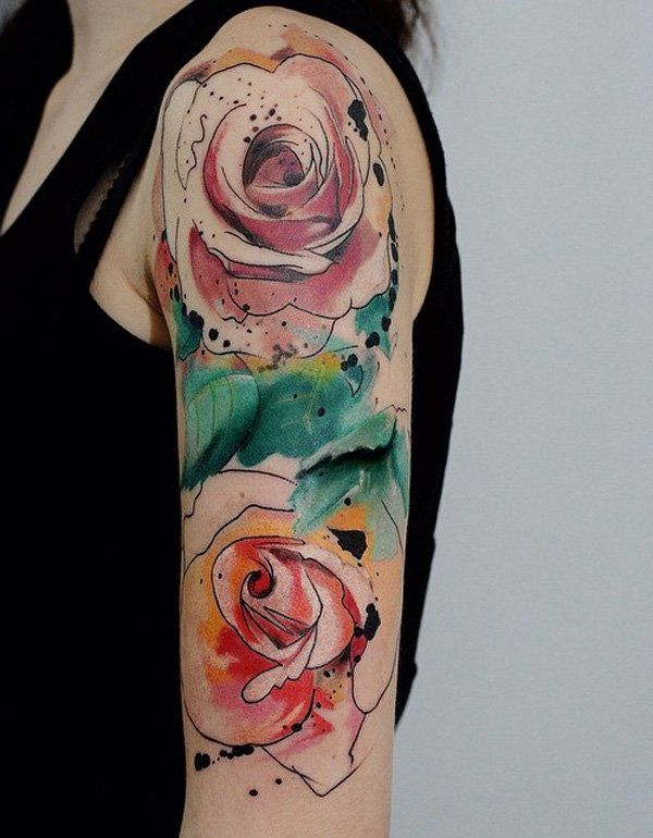 120 Meaningful Rose Tattoo Designs Tattoos For Women Half