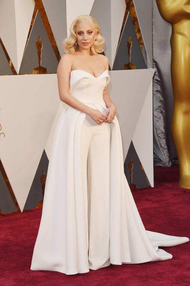 Oscars 2016: Das waren die Kleider-Tops und Fashion-Flops   Lady gaga