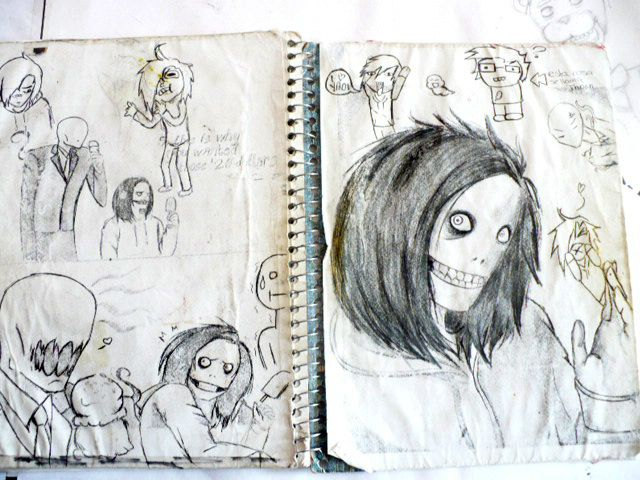 mi cuaderno viejo xDD Anne Brody I, my draws, my work, my art