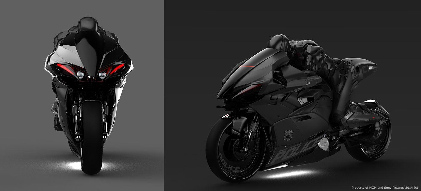 Top 10 Badass Superhero Bikes Concept Motorcycles Bike Robocop