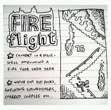GameToiletHoliday edition : FIRE FLIGHT - VENUS PATROL