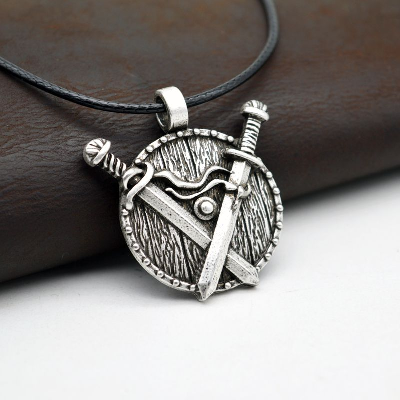 1pcs norse viking necklace antique silver sword pendant necklace 1pcs norse viking necklace antique silver sword pendant necklace medieval jewelry courage necklace mens gift ct208 in pendants from jewelry accessories aloadofball Images