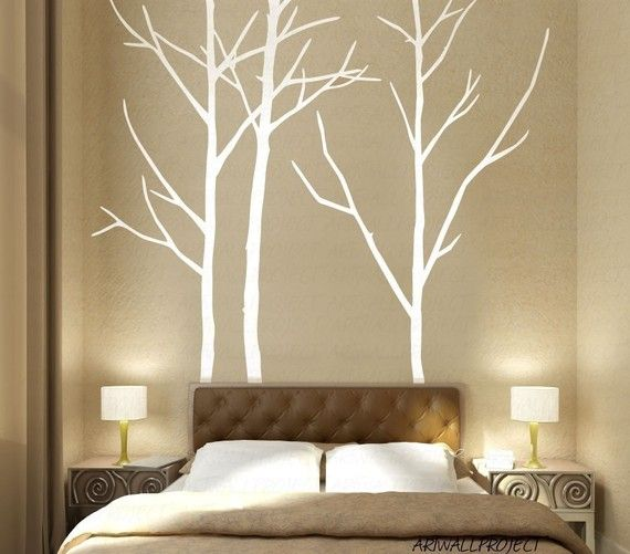 Wall Art Vinyl Decal Sticker Home Style  A3 by artwallproject, $45.00 - OR DIY paint! I like that idea better!