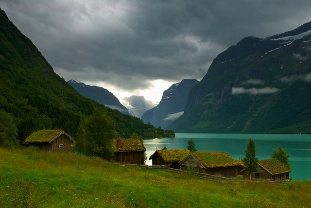 Breng seter, Loen, Norway