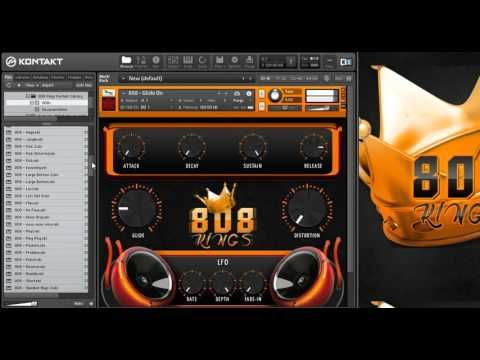 nice New 808 Kings [ TheBeatHouse ] Kontakt VST Crack Free