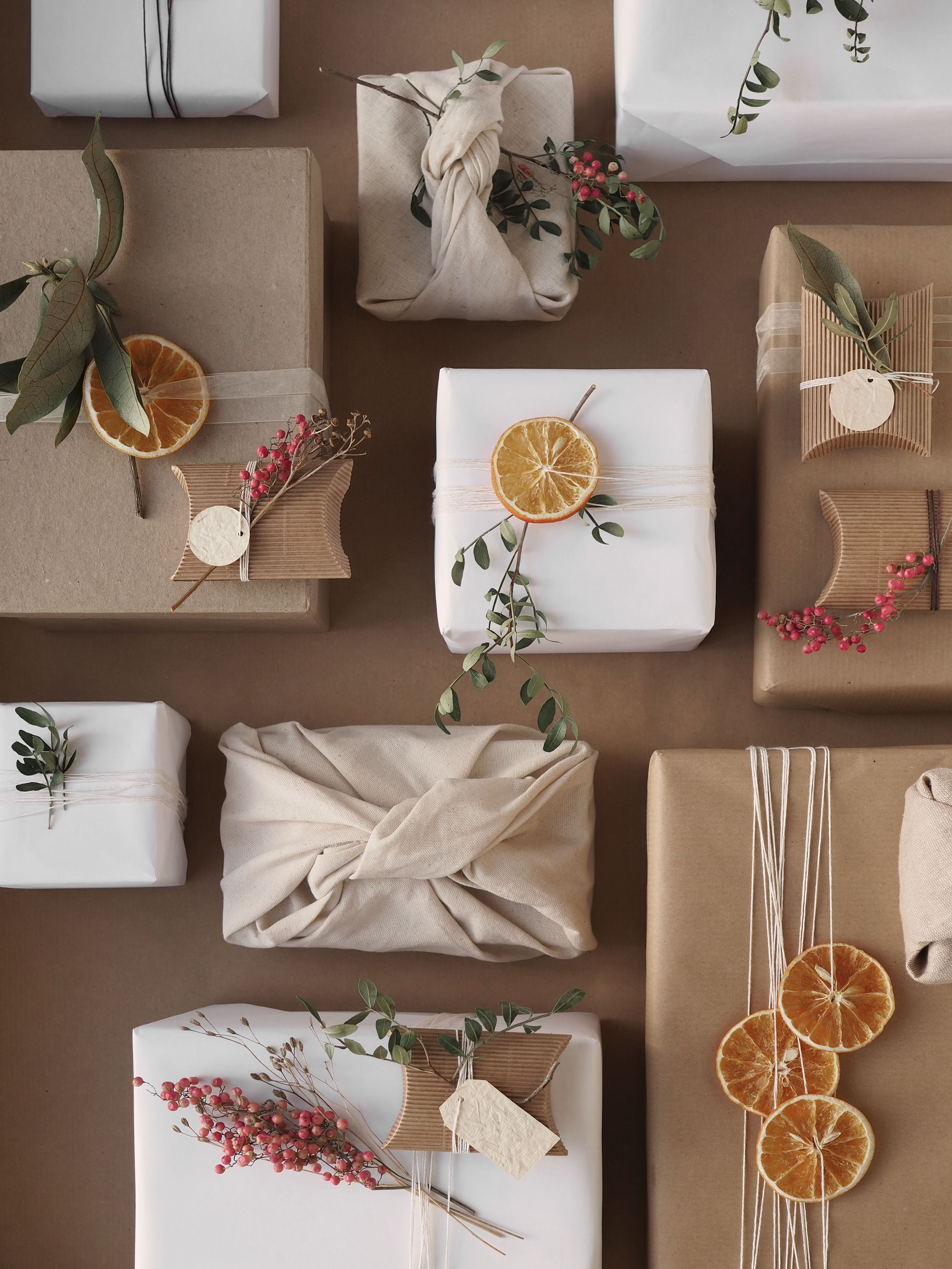 Sustainable Christmas Gift Wrapping Inspiration Wi