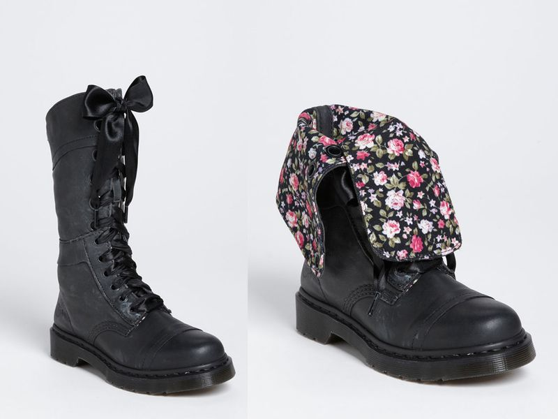 Love these Dr. Martens!  Up or down, cute either way!