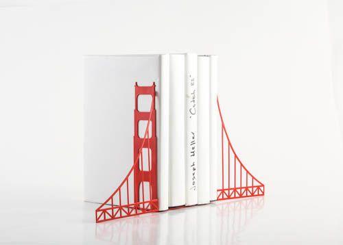 Serres Livres Livraison Gratuite Golden Gate Bridge Serre Livres Decoration Livre Diy