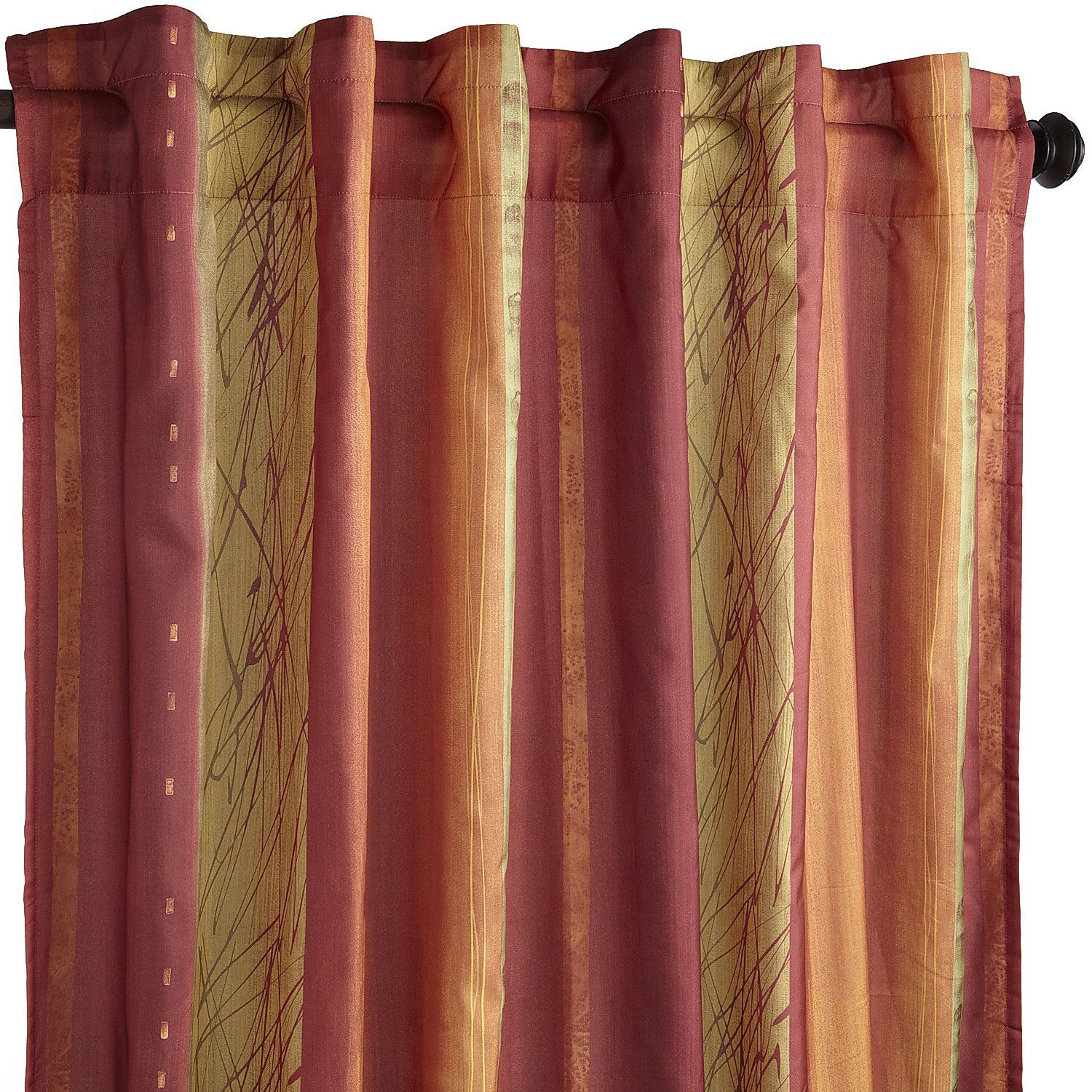 African Sunset Curtain Pier 1 Imports
