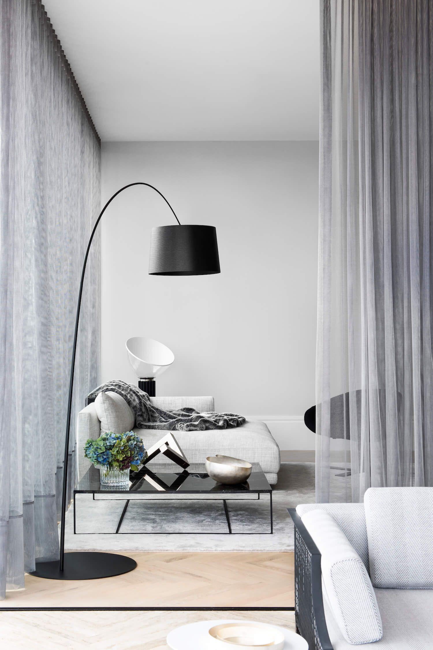65 Modern Minimalist Living Room Ideas: Potts Point Penthouse By Arnold Lane