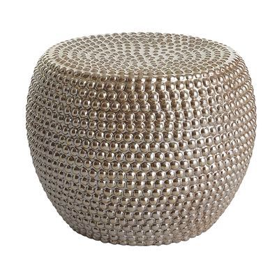 Very cool table/stool from Pier I. Made well .... In India.