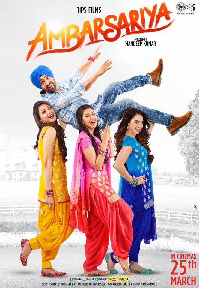 Ambarsariya (2016) Watch Punjabi Movie online Full