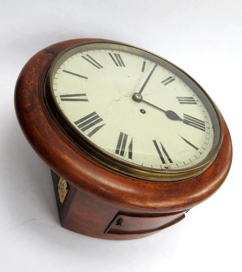 Gwr 12inch Fusee Wall Clock Clock Clock Repair Wall Clock