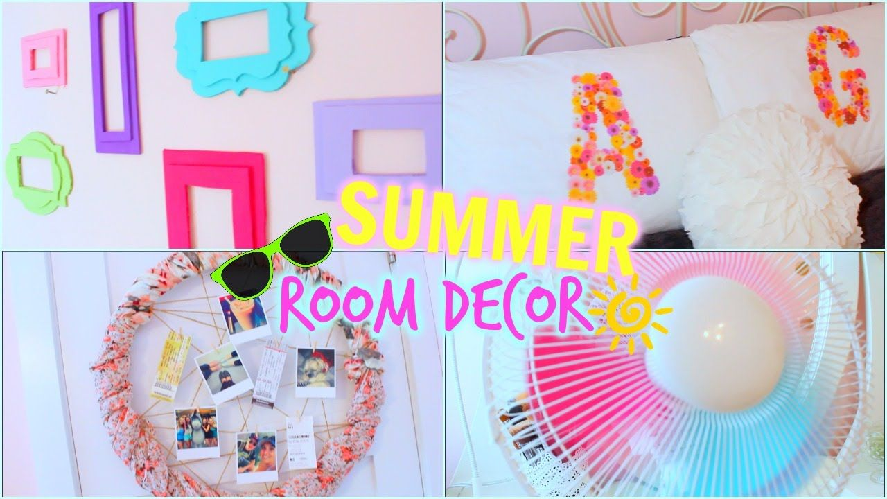 diy summer room decor: tumblr inspired | cute room decor