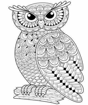 Discover Ideas About Tribal Owl Tattoos