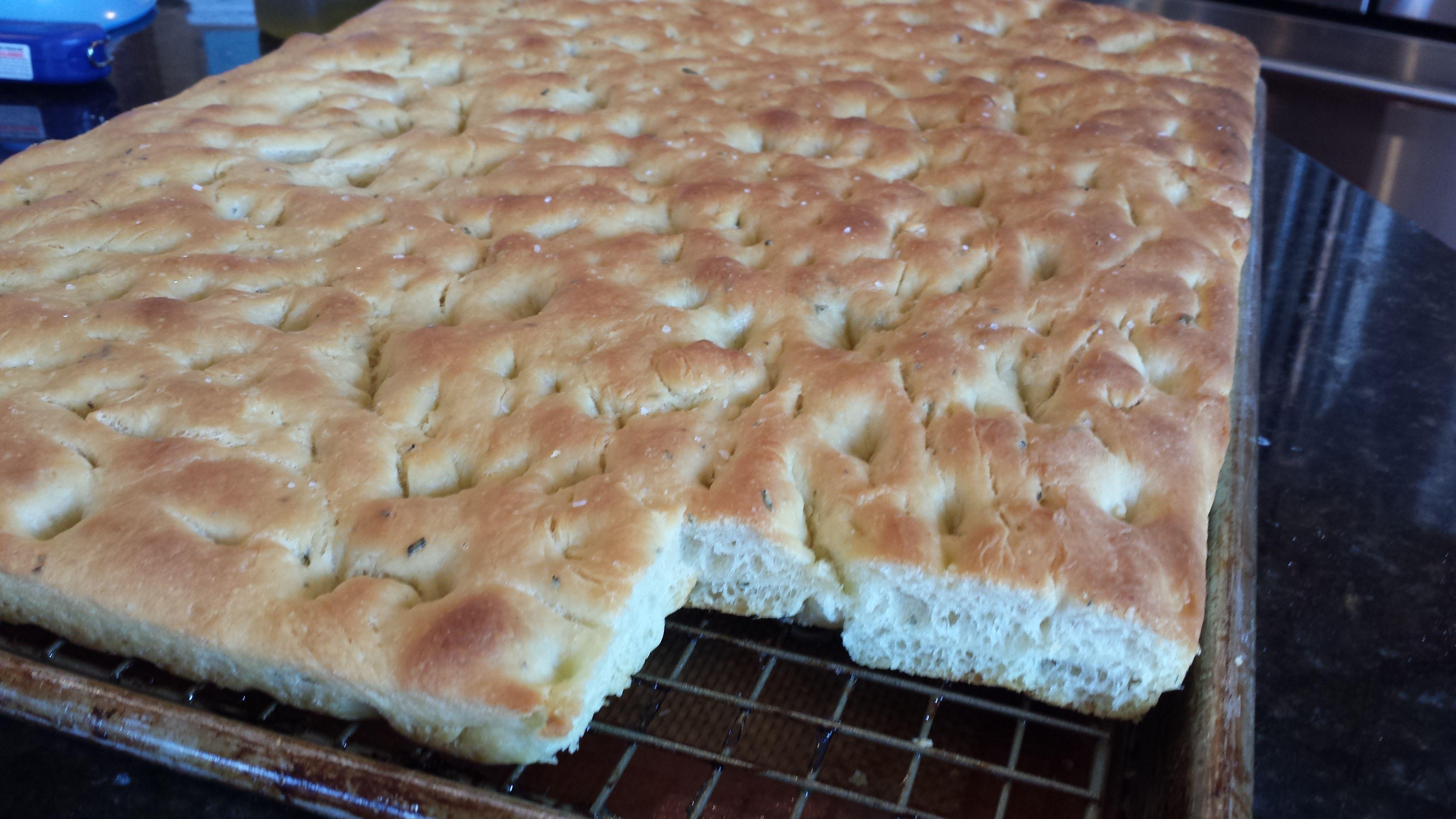 Authentic Focaccia Bread – Food & Swine