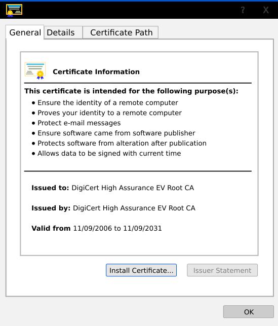 certificate aboutssl certificates intermediate