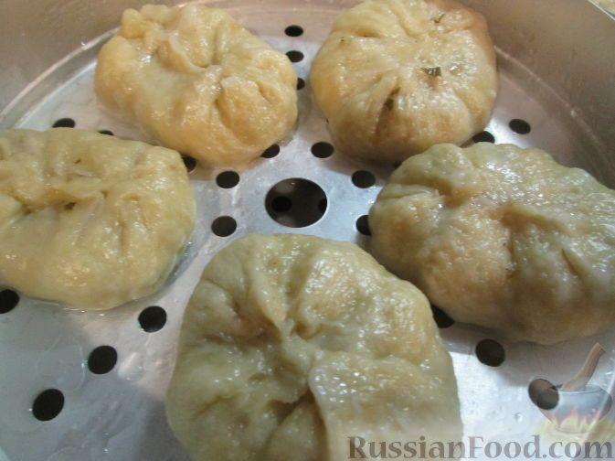 Фото приготовления рецепта: Пигоди - пирожки по-корейски ...