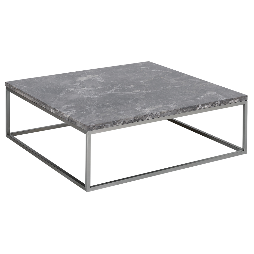 Marble Square Coffee Table Light Grey Dwell 419 In 2020