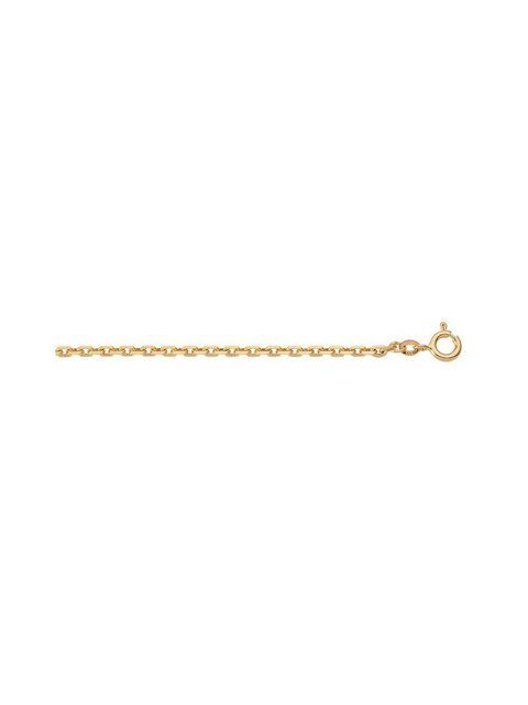 Photo of Gold chain »Gold 14 k (585) necklace – necklace« 14 k 585 yellow gold anchor chain …