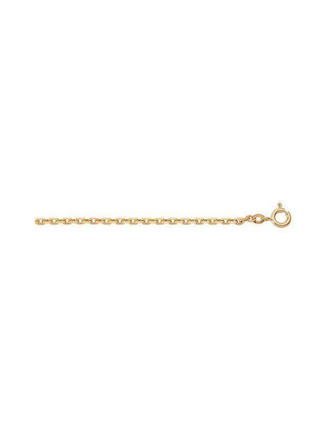 Cadena de oro »Collar de oro de 14 k (585) – collar« Cadena de ancla de oro amarillo de 14 k 585 …