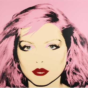 After Andy Warhol Debbie Harry (Screenprint) - May 13, 2019 | Black River Auction in NJ on LiveAuctioneers #andywarhol