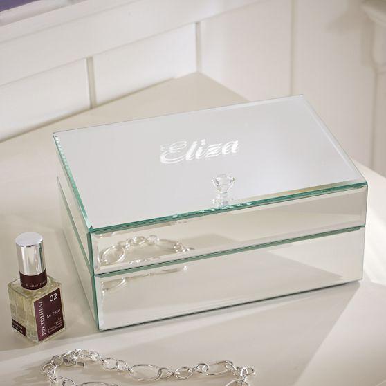 Mirrored Stackable Jewelry Box Decoraci 243 N De Unas Cajas