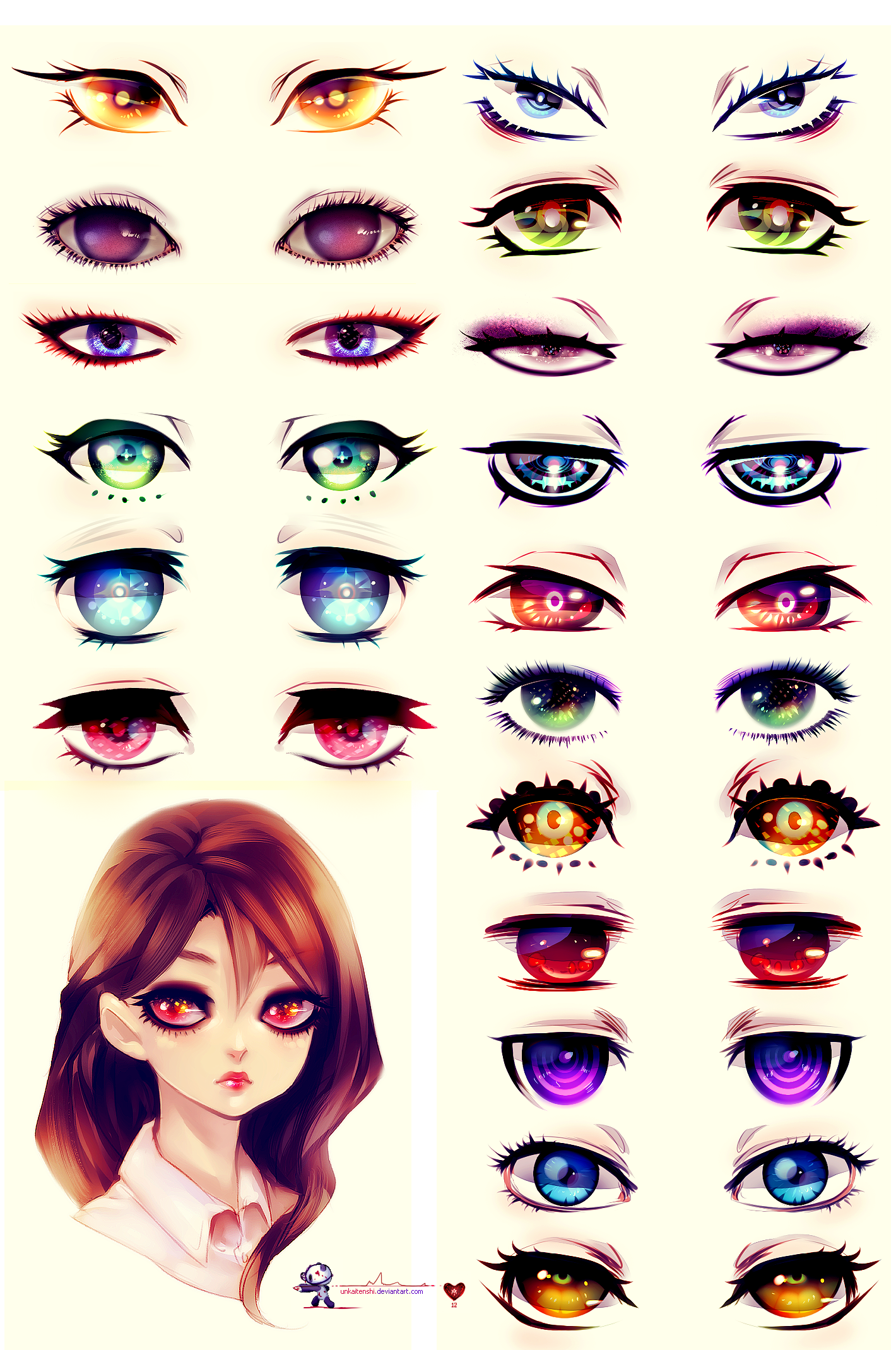 Eyes by on DeviantArt (With