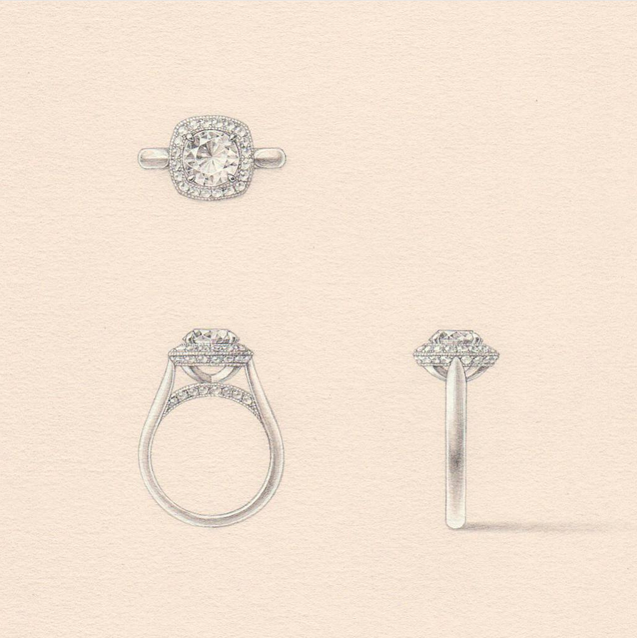 Engagement Rings Auckland: Naveya & Sloane, Made To Order In Auckland, New Zealand