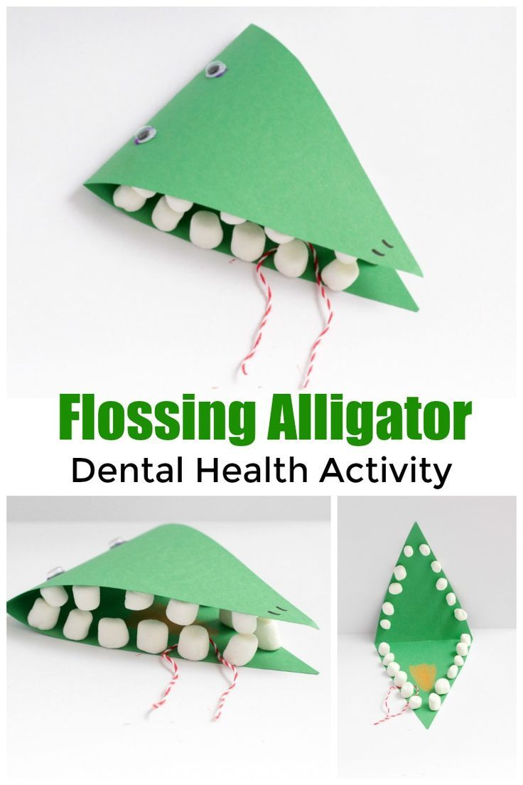 Dental Health Kindergarten Lesson Plan - with a fun craft too ...