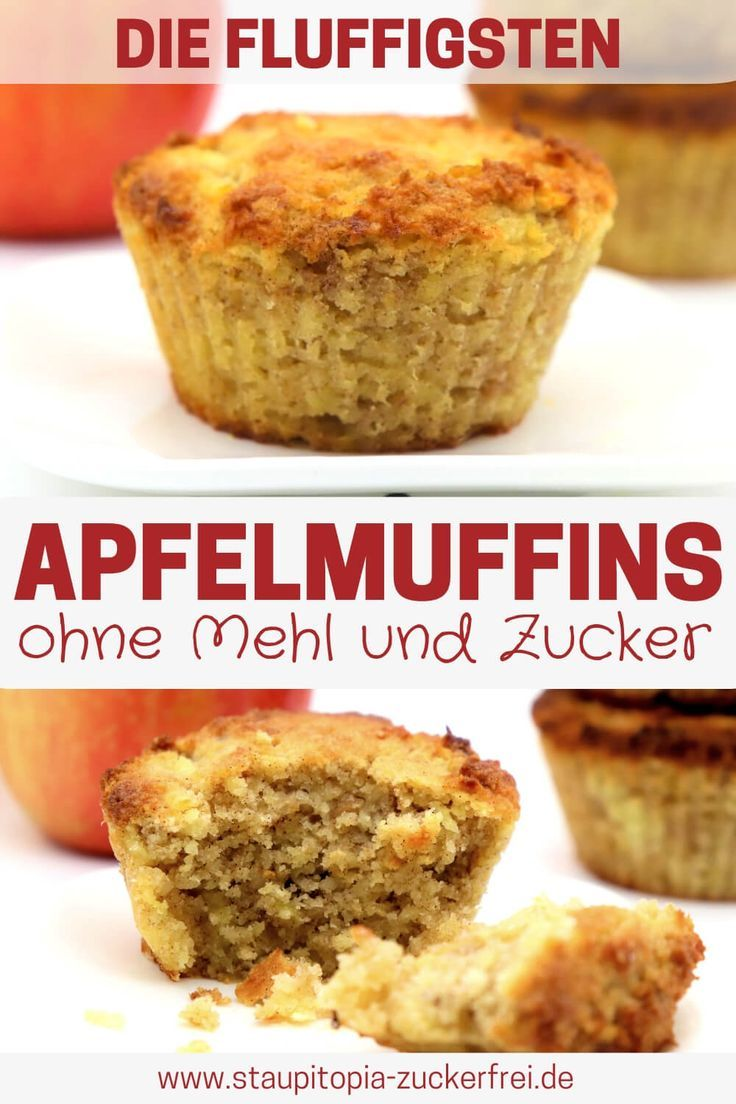 Photo of Low Carb Apple Muffins Without Sugar – Staupitopia Sugar Free