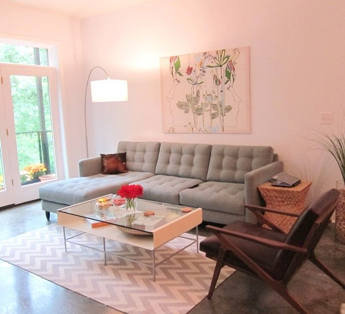 Mid century modern living room living rooms pinterest for Cute living room sets