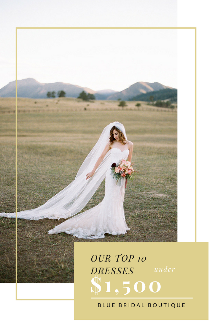 OUR TOP 10 DRESSES UNDER $1,500 | Blue bridal, Bridal boutique and ...