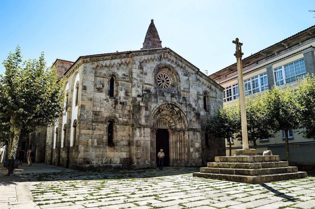 Colegiata De Santa Maria Del Campo A Coruña Spain A Coruña Spain Fotos