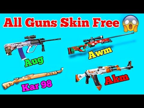 PUBG ALL GUNS SKIN FOR FREEE?? | I guarantee everyone will get free