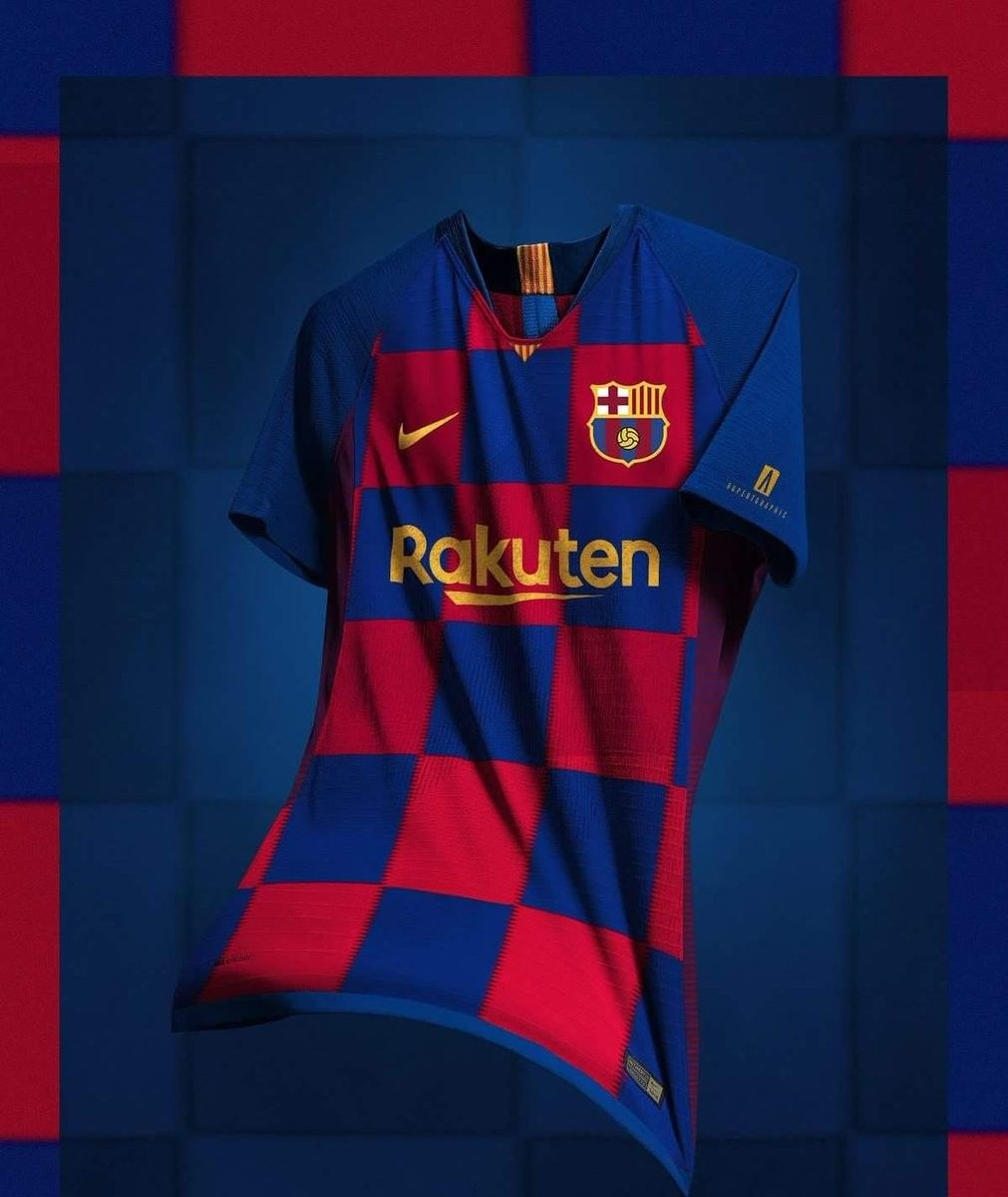 1c60a084e5 New Barcelona Crest Jersey Kit 2019-20
