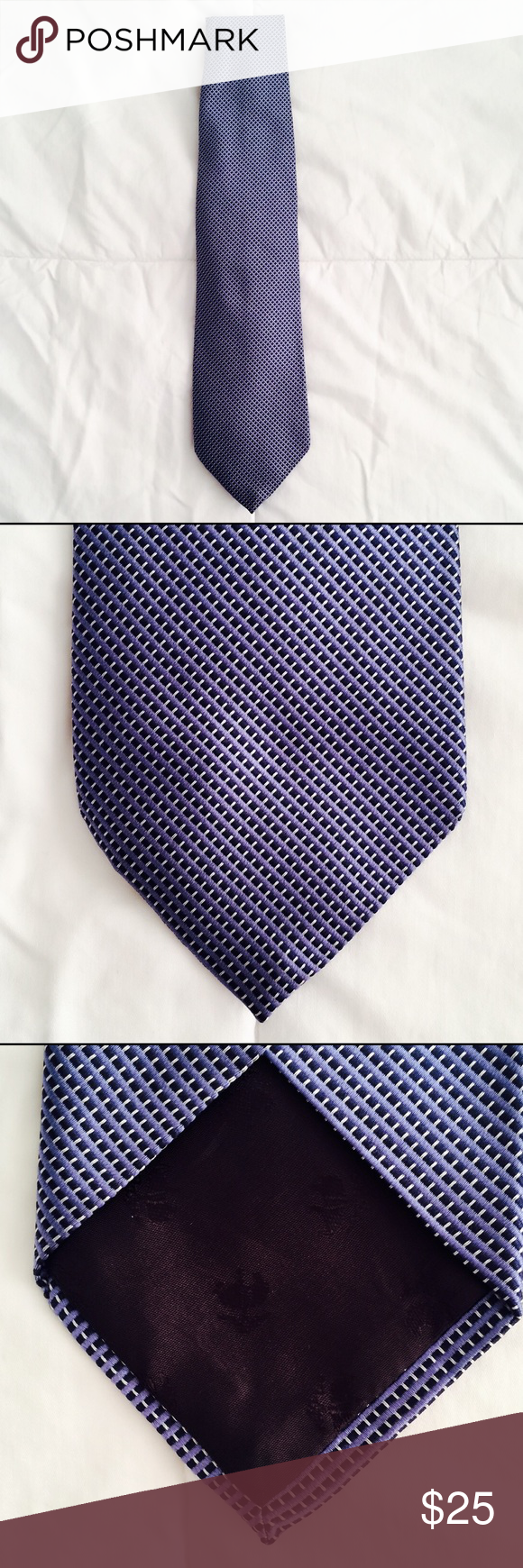 NEW 346 Brooks Brothers Pure Silk Tie NEW. Pure silk. Made in USA. Woven in Italy. Brooks Brothers Accessories Ties