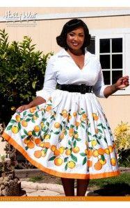 Hermosos vestidos de primavera para gorditas