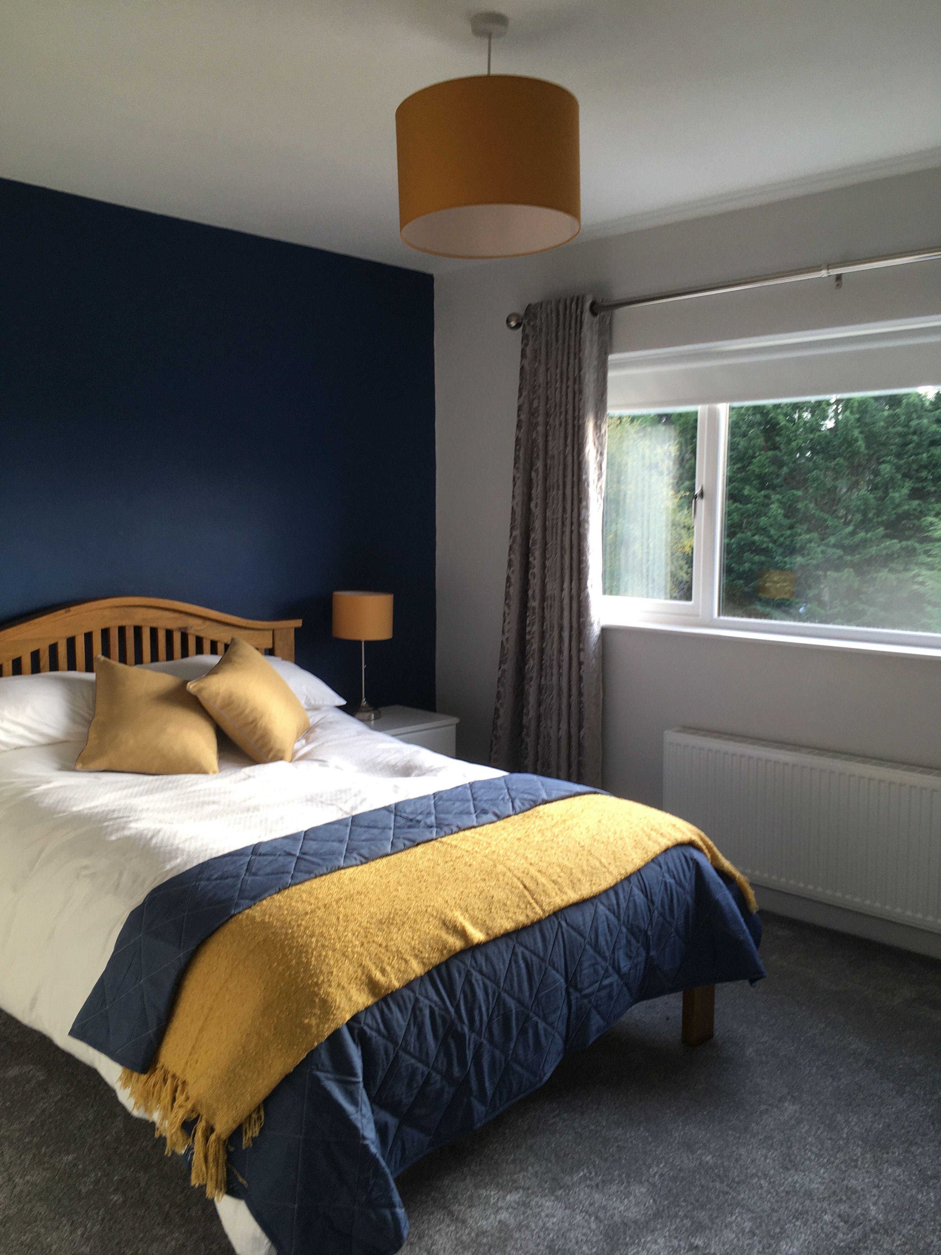 Bedroom in 8  Yellow master bedroom, Yellow bedroom decor