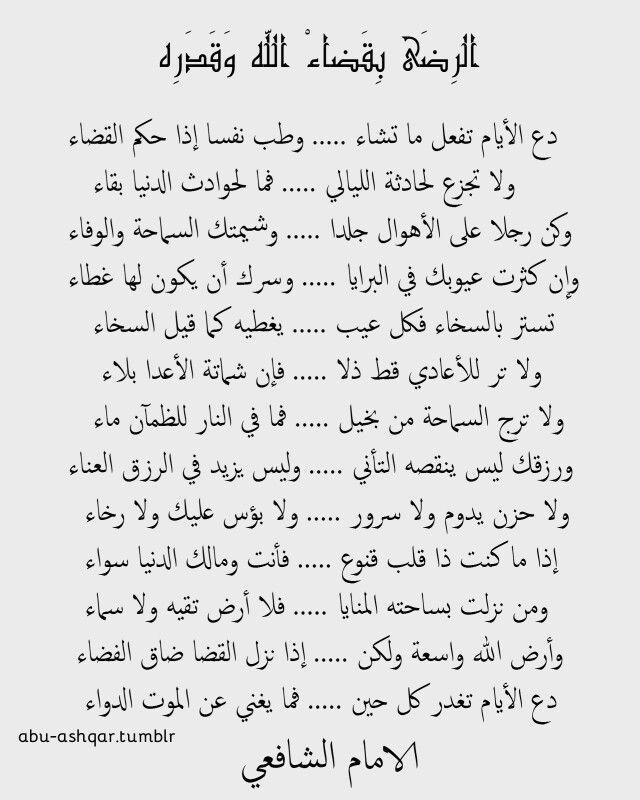 أقوال الامام الشافعي Words Quotes Arabic Quotes Cool Words