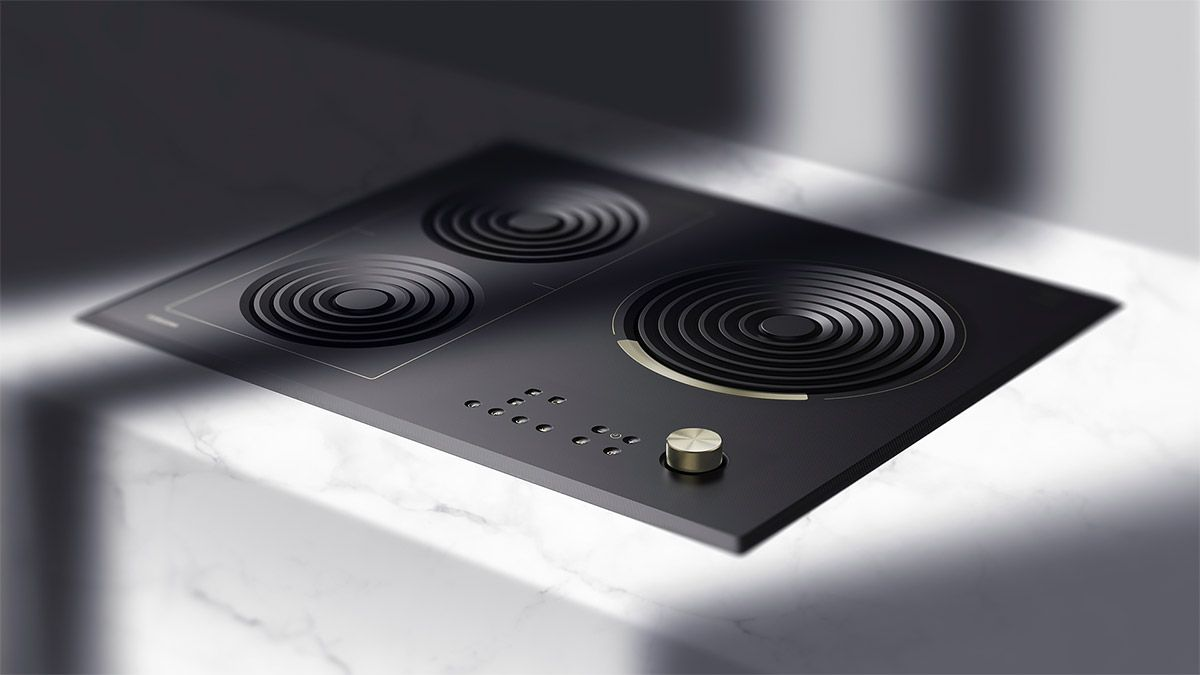 Inspired By The Chinese Culture Korean Designer Kim Myung Nyun Created This Induction Unit Primarily Focused On Wo Cooktop Industrial Design Induction Cooktop