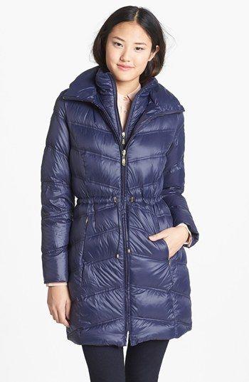 cc624885ede Ellen Tracy Packable Down Anorak with detachable Hood (Regular   Petite)