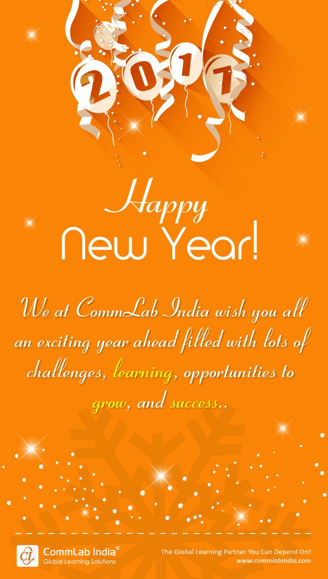 Happy new year 2017 elearning infographics pinterest learning happy new year 2017 voltagebd Images
