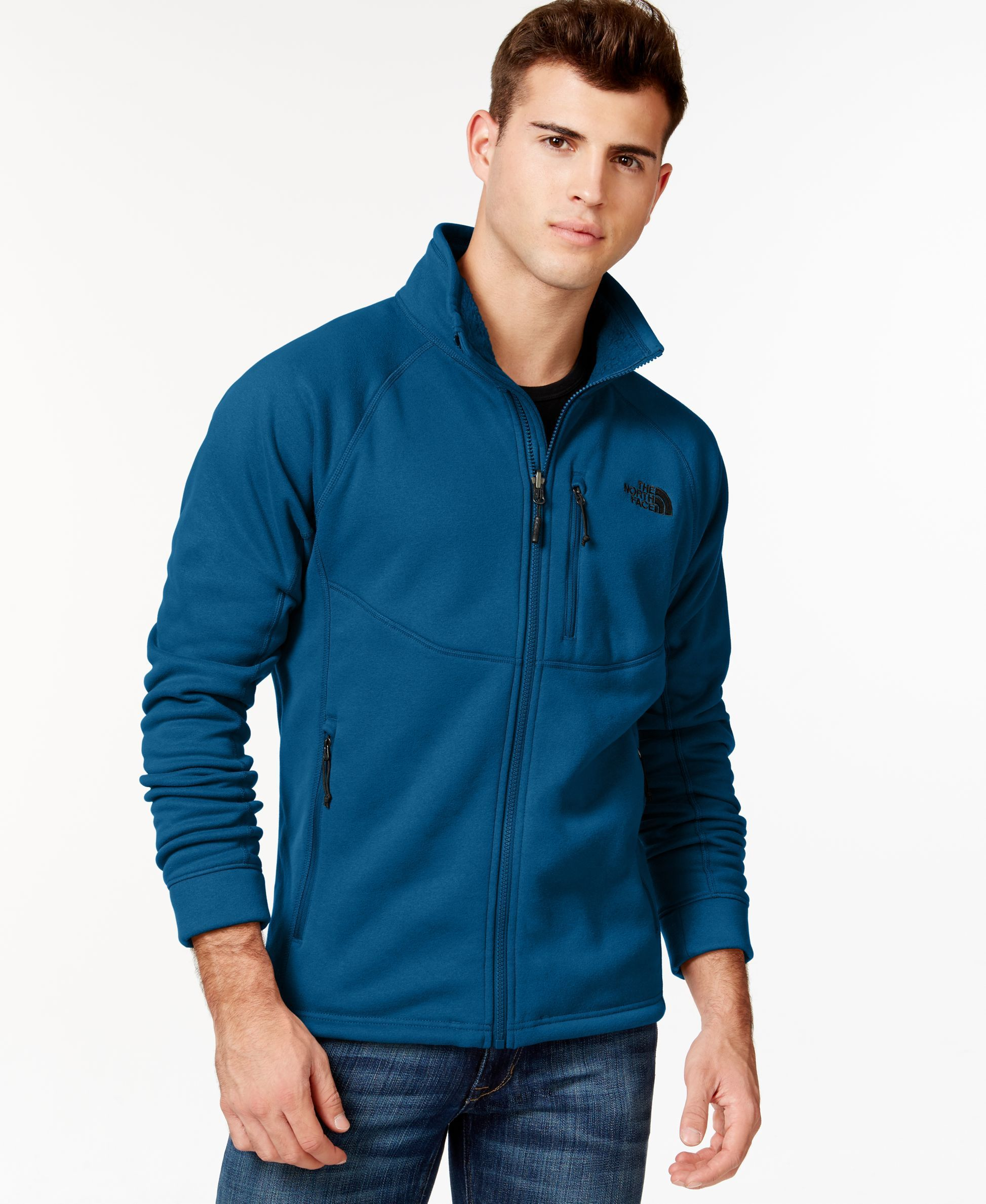 bff36aefec94 The North Face Timber Full-Zip Fleece Jacket