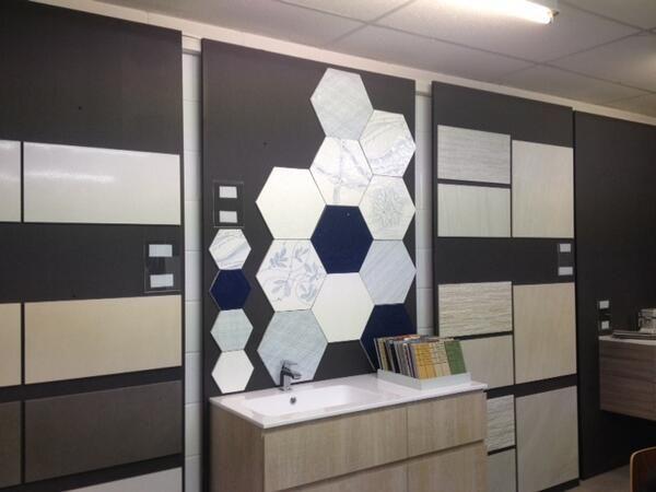 Italia Tiles, London UK Melograno hexagon