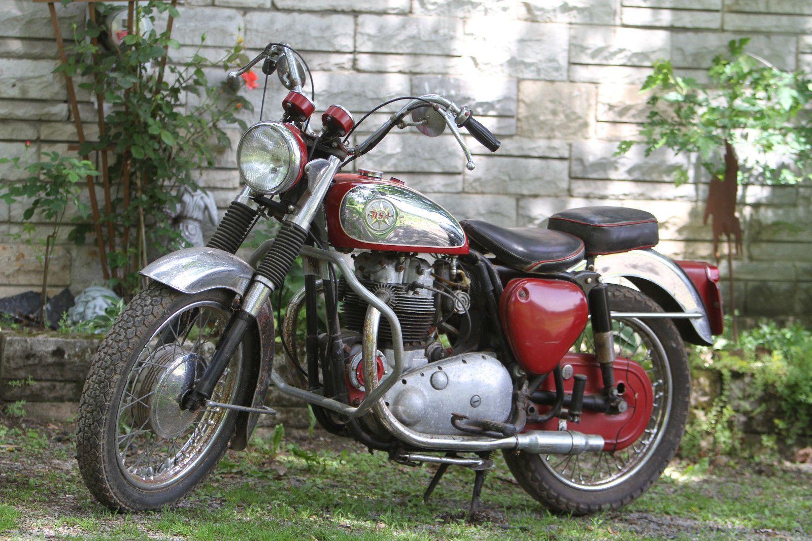 EBay 1963 BSA Super Rocket Classic British Motorcycle Barn Find