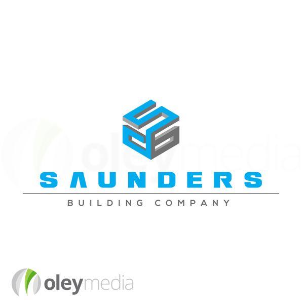 Saunders Building Logo Design Melbourne #LogoDesign http://www.oleymediagroup.com.au/portfolio/logo-design/