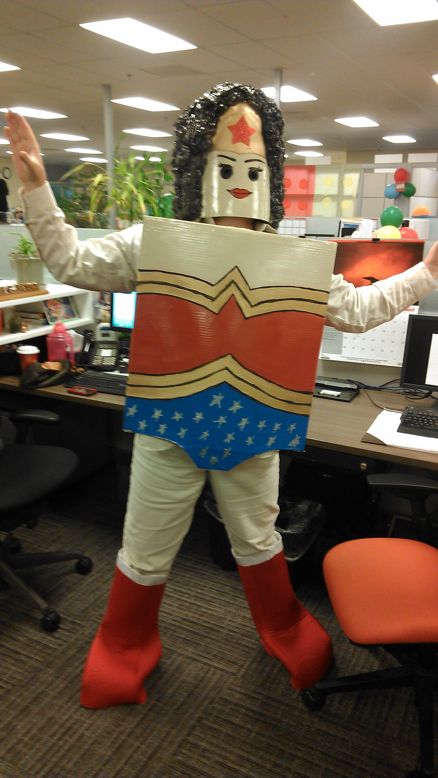 Lego Wonder Woman Costume I Made For Work  Things I Have -4147